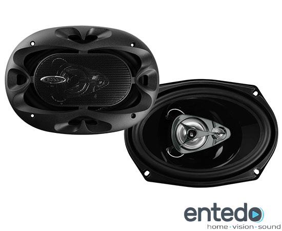 2 boss audio b693 lautsprecher speaker boxen auto car hifi. Black Bedroom Furniture Sets. Home Design Ideas