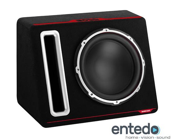 boss audio bass12ap 30cm geh use subwoofer mit endstufe. Black Bedroom Furniture Sets. Home Design Ideas