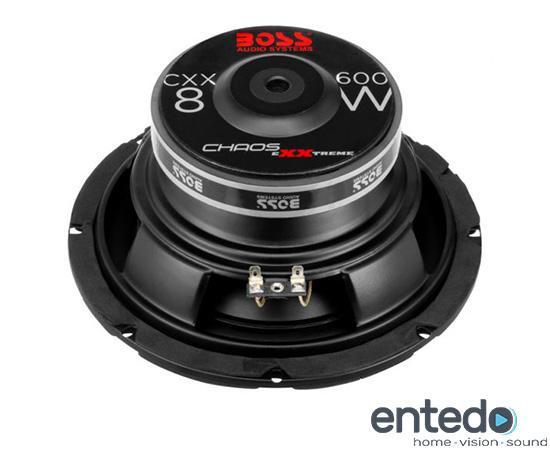 boss audio bass cxx8 20cm subwoofer car hifi auto. Black Bedroom Furniture Sets. Home Design Ideas