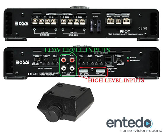 boss audio r3004 4 kanal verst rker endstufe amplifier car. Black Bedroom Furniture Sets. Home Design Ideas
